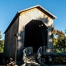 Chambers Covered Railroad Bridge by Susan Vinson