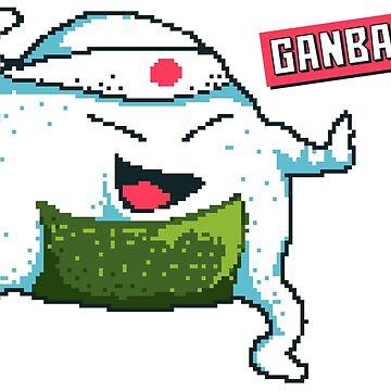 Ganbatte! by flipper42