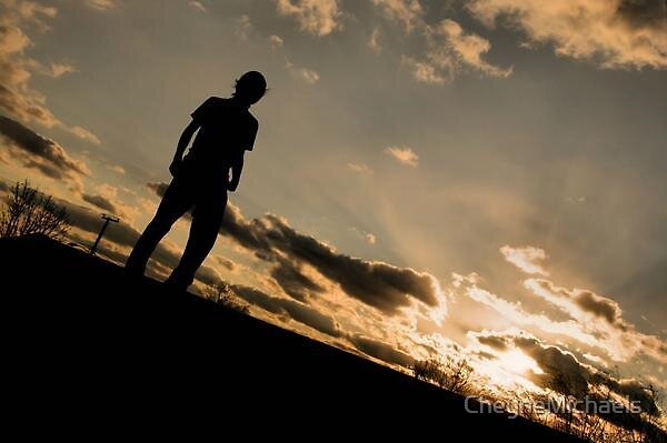 Epic silhouette by CheyneMichaels