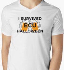 ECU Halloween Men's V-Neck T-Shirt