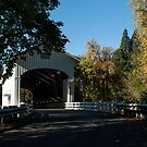 1938 Pengra Covered Bridge by Susan Vinson