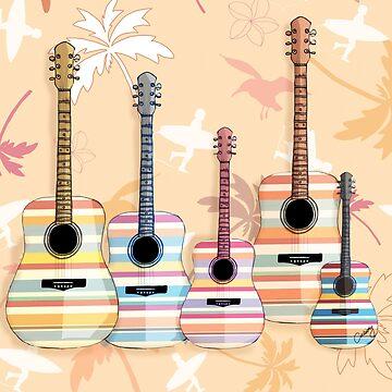 Indie Guitars by karin