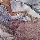 Rock Abstract No 3 by Kevin Allan