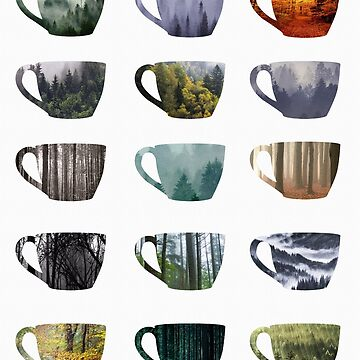 Tree Cups by ninthstreet