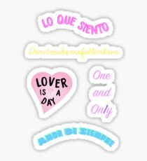 Cuco Titles Sticker