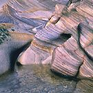 Rock Abstract No 4 by Kevin Allan