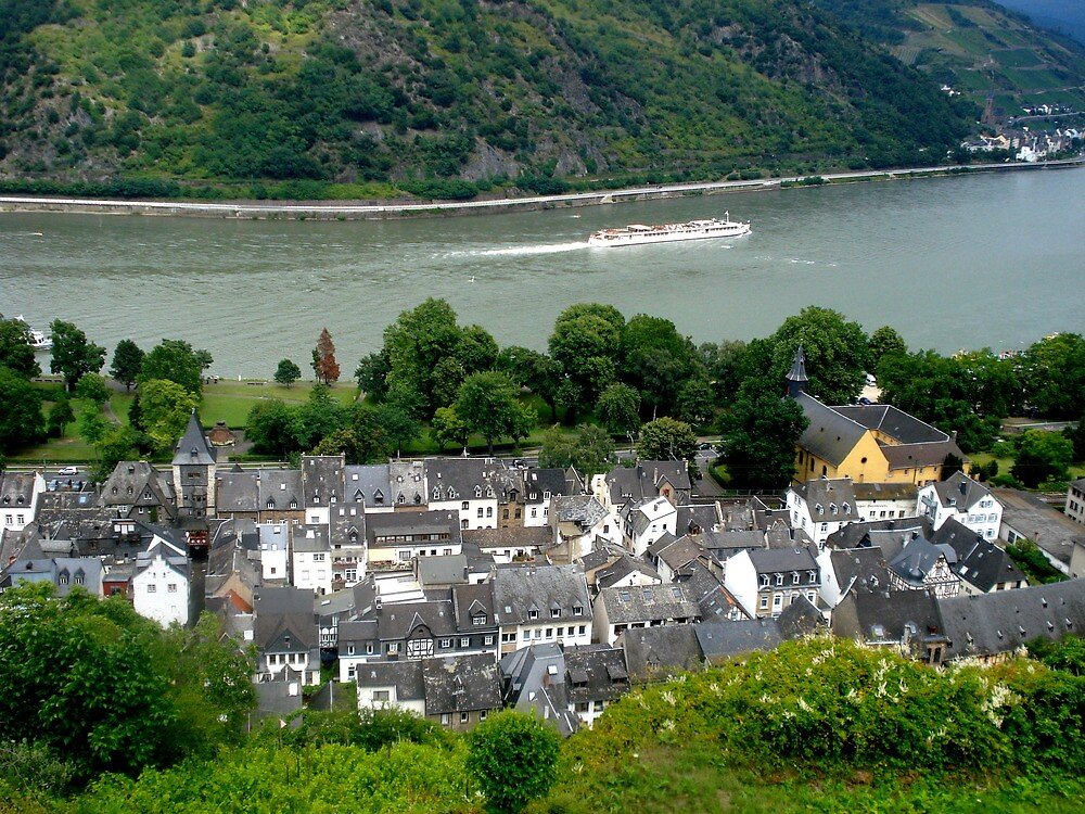 The Rhine Valley, Germany - 2009 by gij88