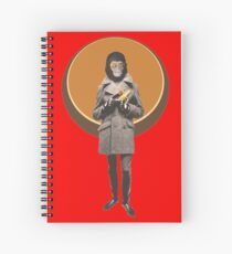 Planet Of The Apes Mod Style Spiral Notebook