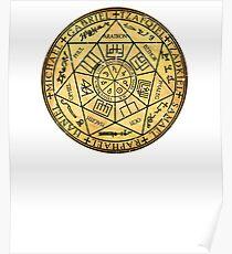 Siegel der sieben Erzengel Poster