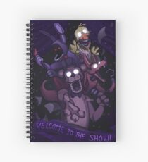 FNAF - Greatest Show Unearthed! Spiral Notebook