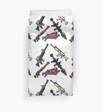 FNBR Guns Duvet Cover
