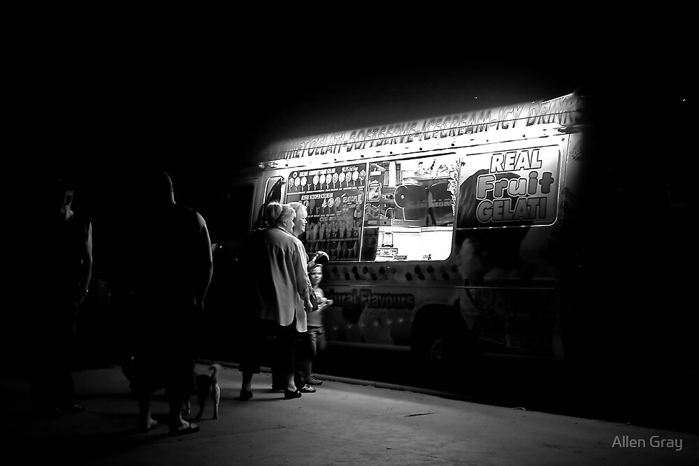 Late Night Ice Cream by Allen Gray