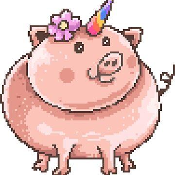 Uni Piggy by flipper42