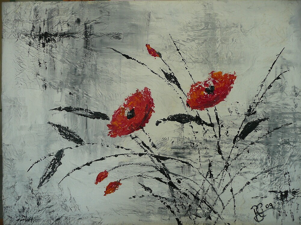 Poppy Splash by ritagee