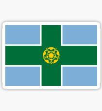 Derbyshire county flag Sticker