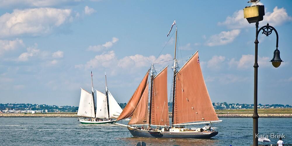 sailing by by Kara Brink