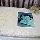 Daniel and Florence 50th Anniversary Cake by PhotosbyNan