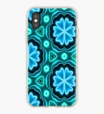 Blue Glowing Rose Iphone Cases Covers For Xs Xs Max Xr X