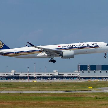 Singapore Airlines, Airbus A350-900 at Milan - Malpensa (MXP / LIMC) Italy by PhotoStock-Isra