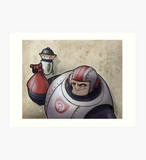 Space Buffoon Art Print