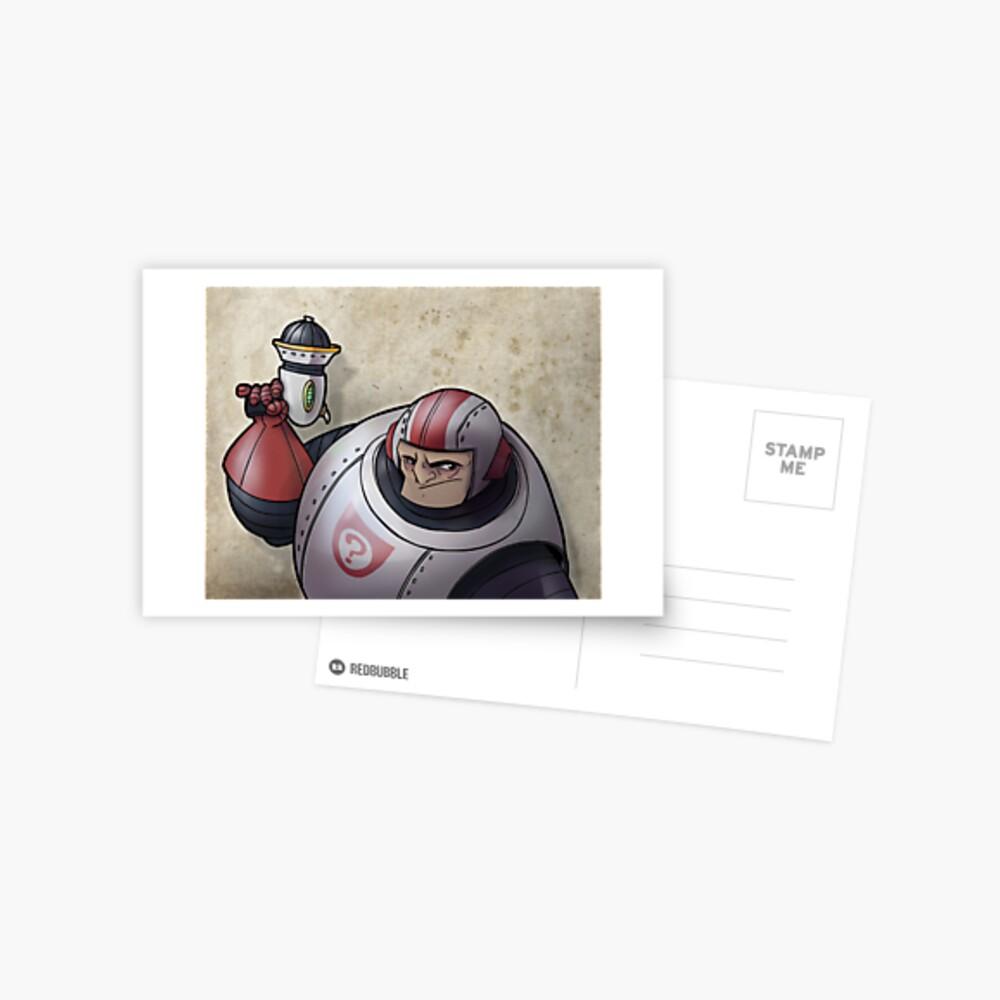 Space Buffoon Postcard