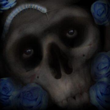 Flower Skull by squeemish
