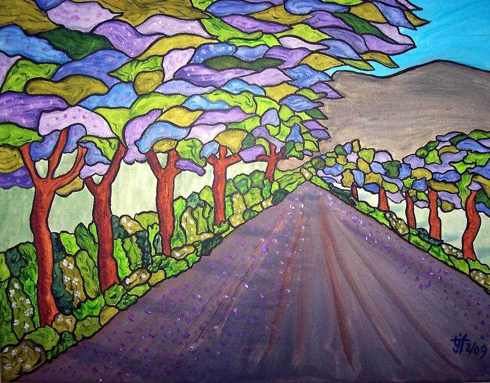 Bonnivale Road by TrixiJahn