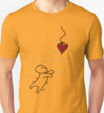 fishing for your heart Slim Fit T-Shirt