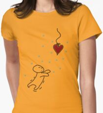 fishing for your heart Fitted T-Shirt