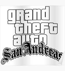 Grand Theft Auto SanAndreas Poster