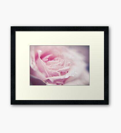 ~ as fleeting as the morning dew ~ Framed Print