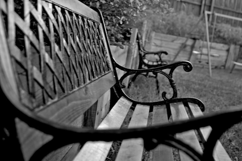 Parkbench Chair by Alexandra Dellaportas
