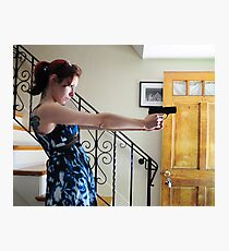 guns in the house Photographic Print