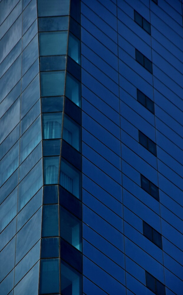 Blue windows by Erika Gouws