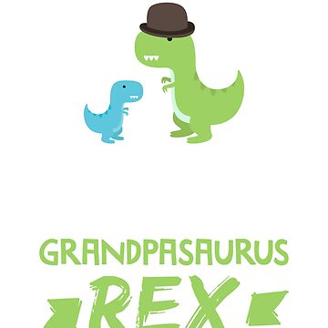 Mens Great Grandpasaurus Rex T-Shirt Grandpa Saurus Dino Dinosaur by noirty