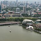 View of Padang from SkyPark by Mark Prior