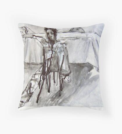 Adam's Room Throw Pillow