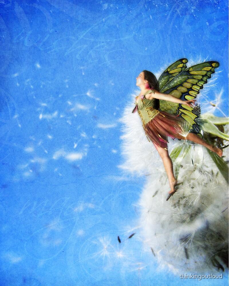 Dandelion Fairy by thinkingoutloud