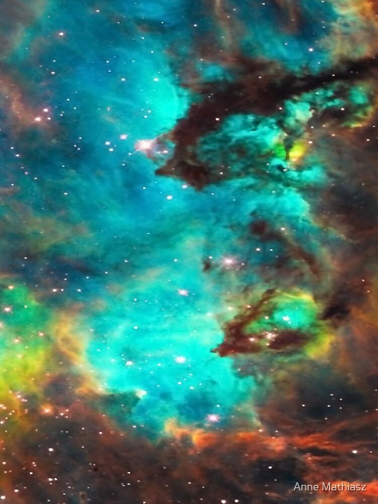 Galaxie / Seepferdchen / Großer Magellanischer Wolken- / Tarantelnebel von boom-art