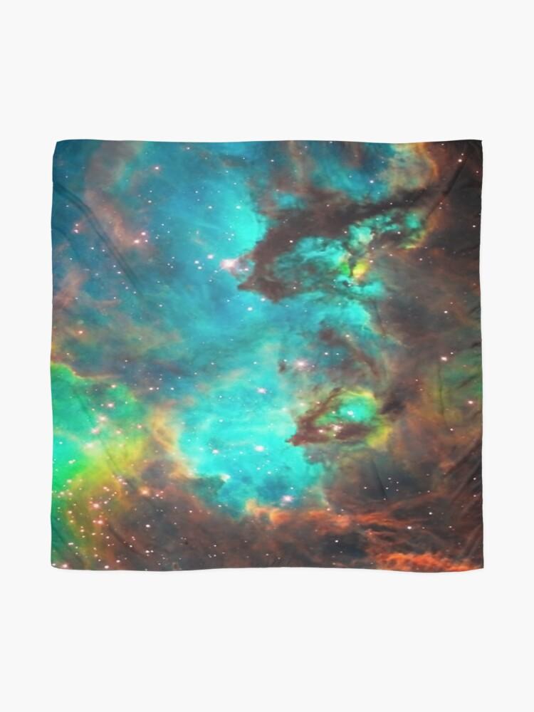 Alternative Ansicht von Galaxie / Seepferdchen / Großer Magellanischer Wolken- / Tarantelnebel Tuch