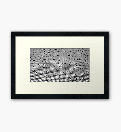 Warped Framed Print