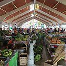 Port Vila Market by Mark Prior