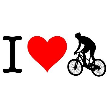 I Love Bike I by fourretout