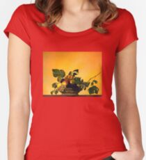 """Basket of Fruit"" Women's Fitted Scoop T-Shirt"
