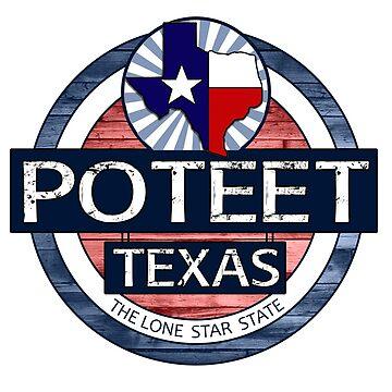 Poteet Texas rustic wood circle by artisticattitud
