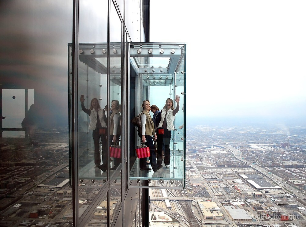 Chicago Skydeck by Judy Seltenright
