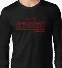 Albert Camus - The Stranger - Existentialist Design Long Sleeve T-Shirt