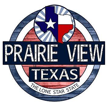 Prairie View Texas rustic wood circle by artisticattitud