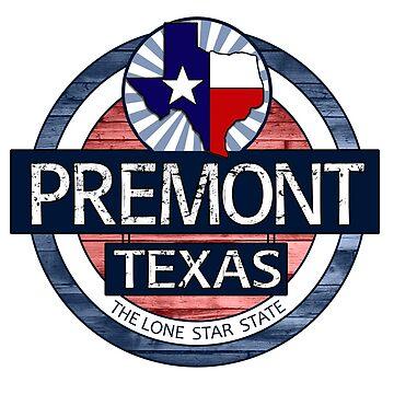 Premont Texas rustic wood circle by artisticattitud