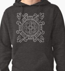 Relic Fragment - White Pullover Hoodie